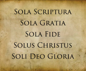 Sola Gratia (Grace Alone)