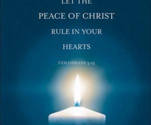 Jesus' Promise of Peace